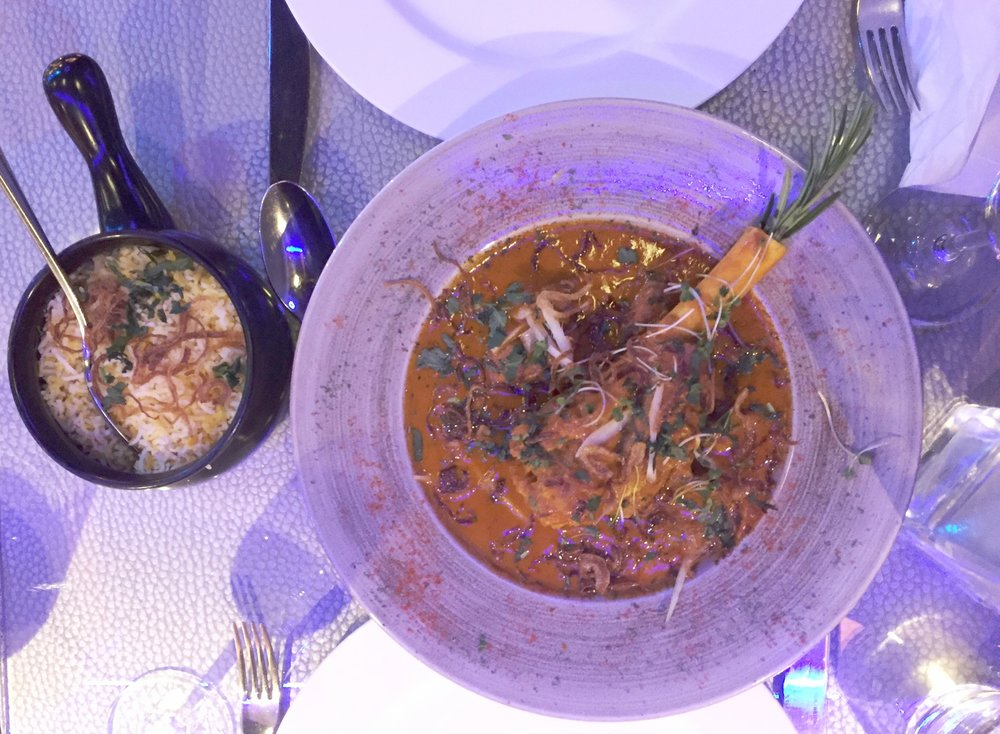Main courses M18 restaurant review