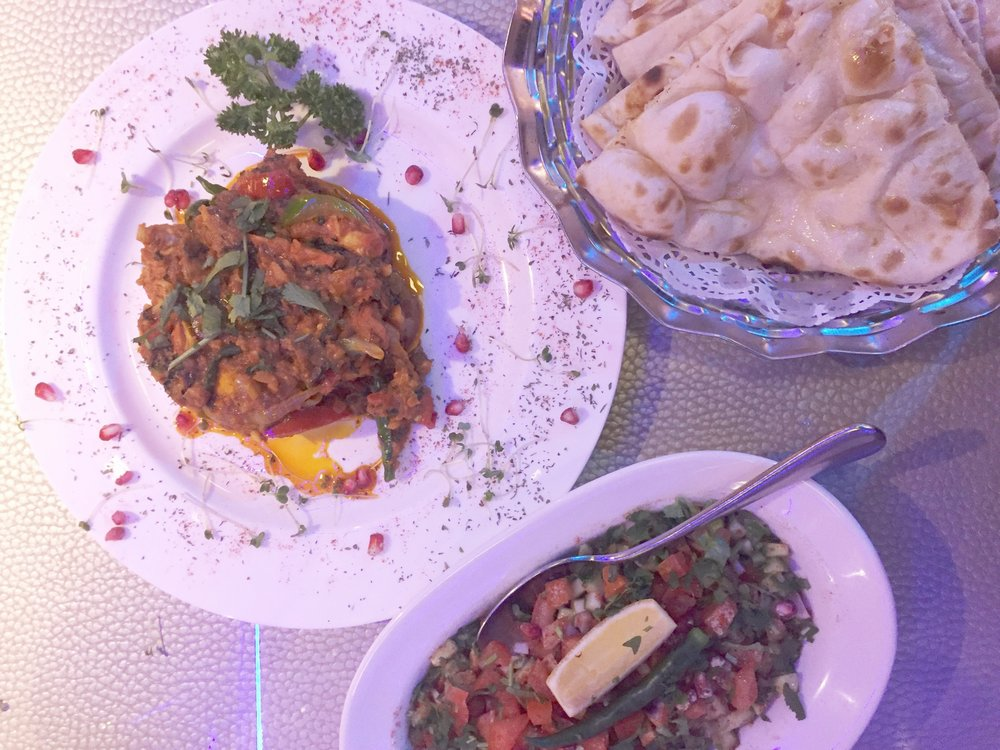 Main course at M18 restaurant review