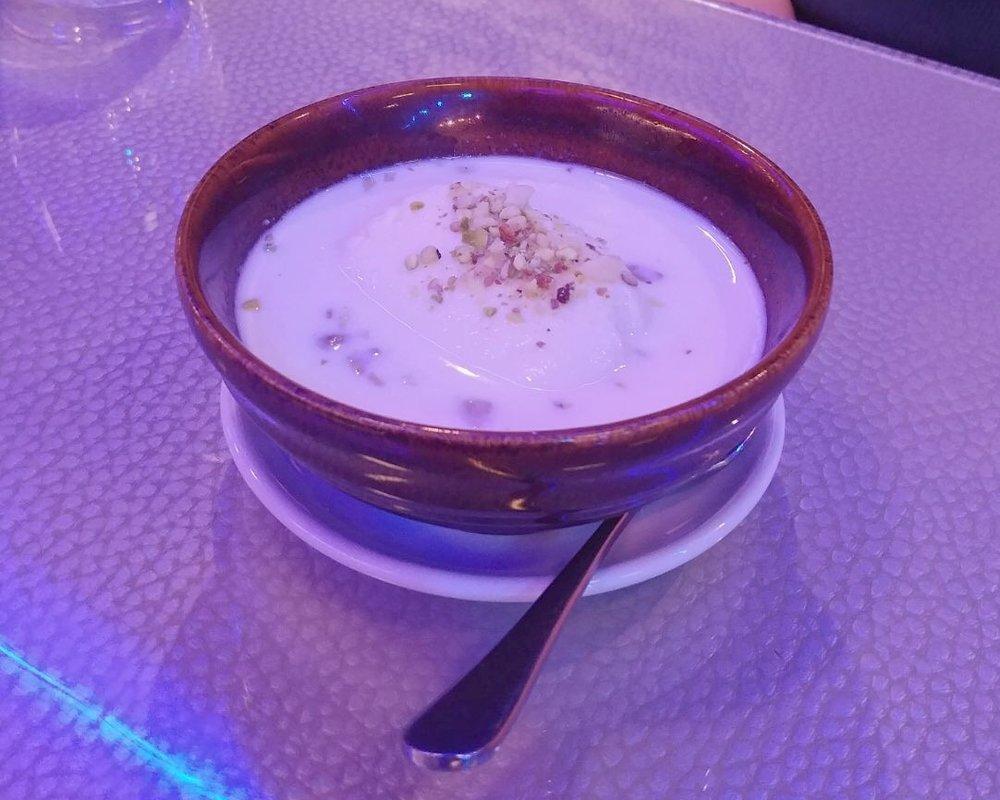 Dessert at M18 restaurant review