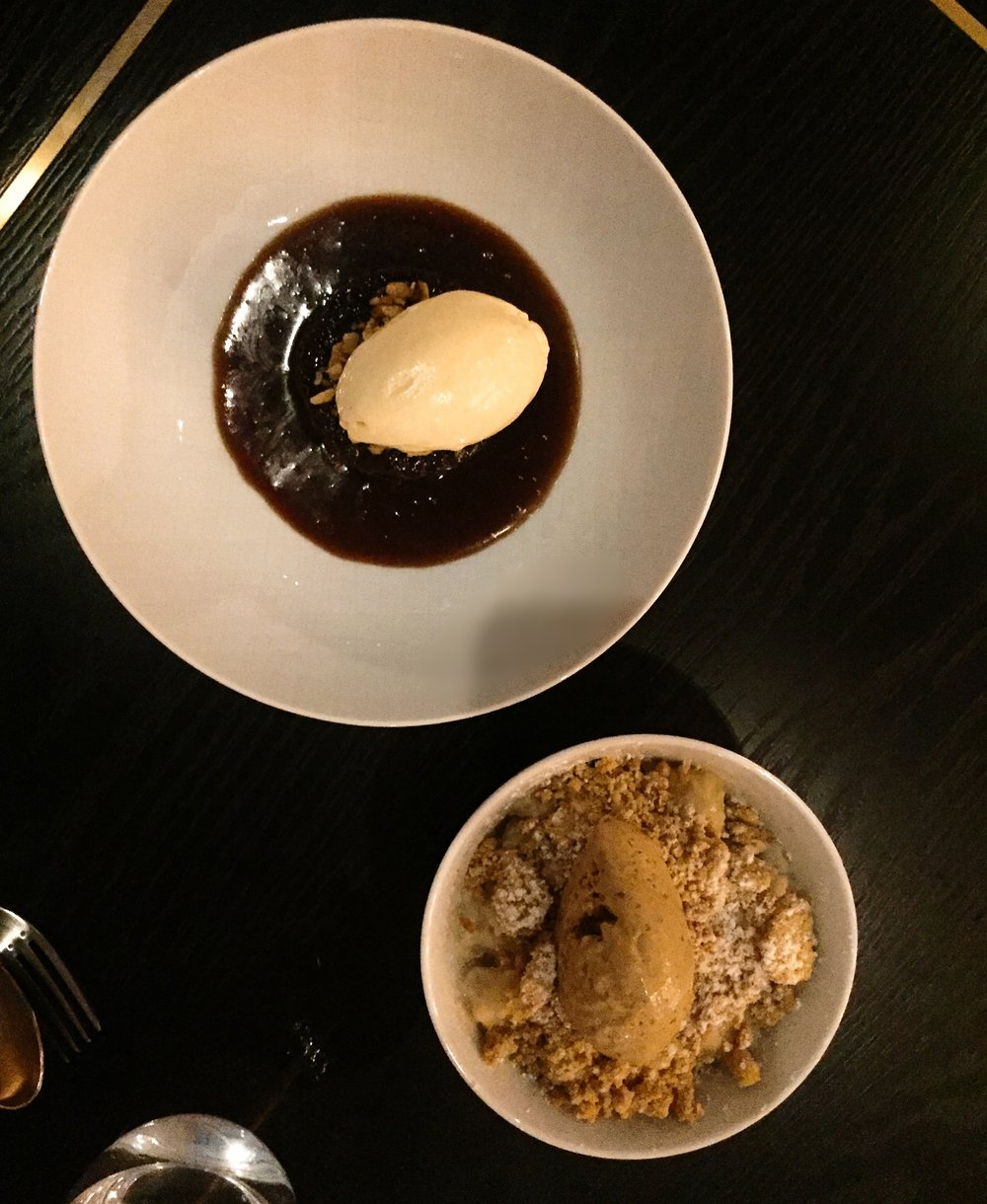 Dessert Trafalgar Dining Rooms restaurant review