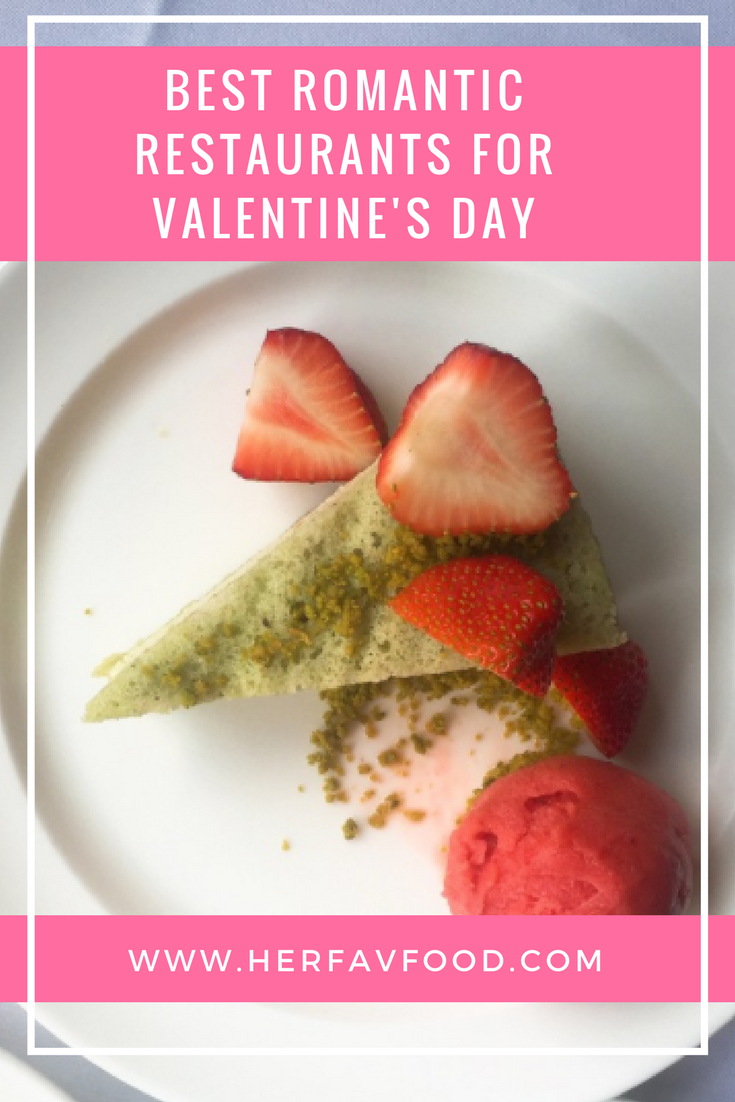 Valentine's day restaurants
