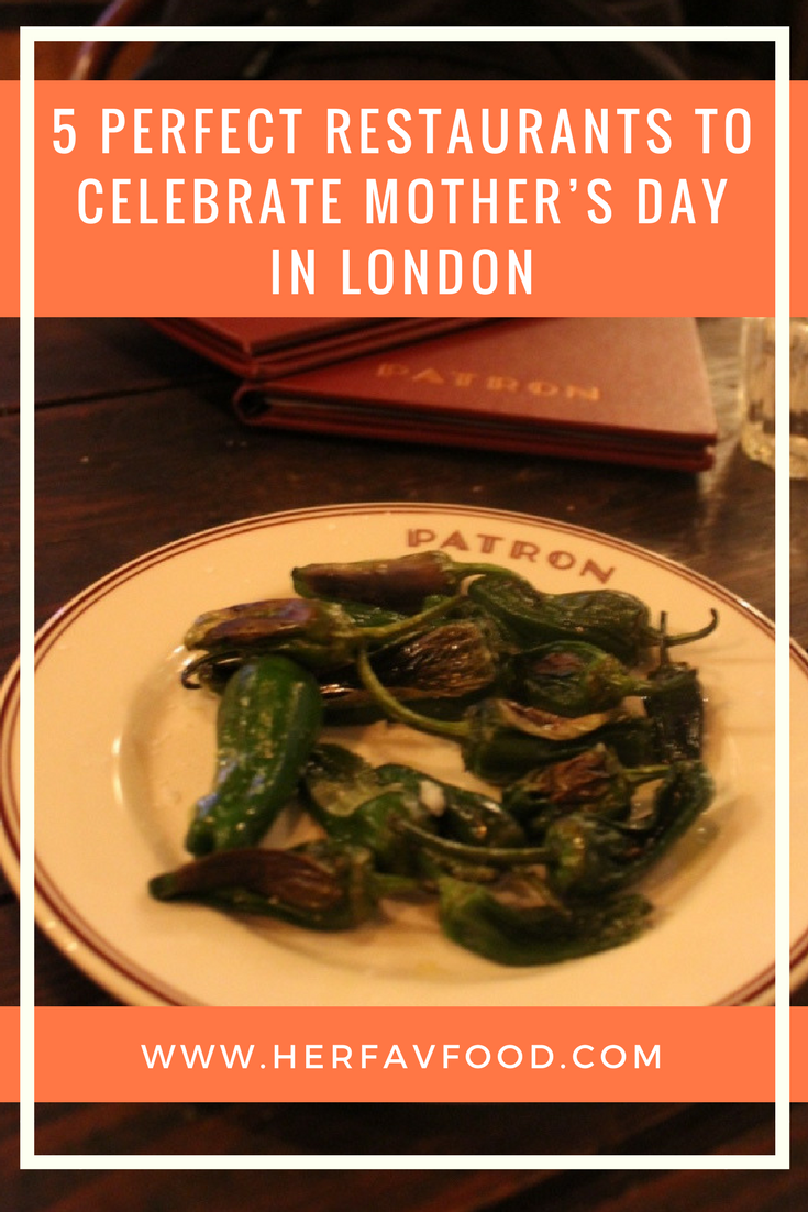 Best restaurants for Mother's Day London
