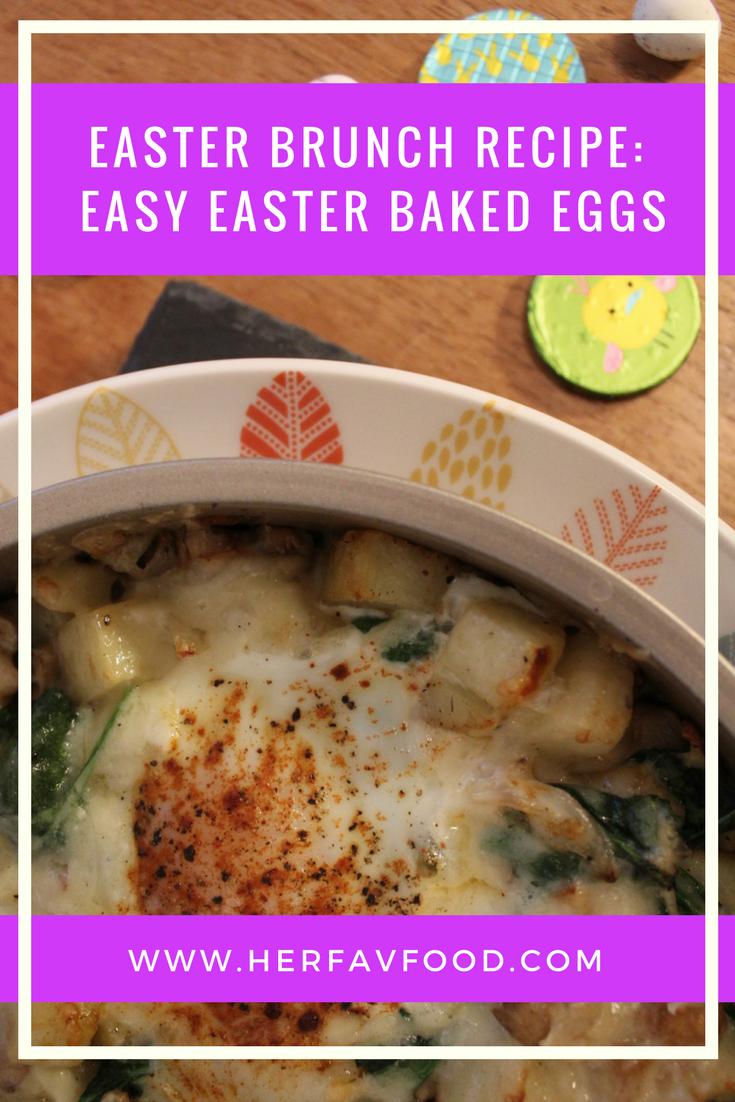 Easter brunch baked eggs recipe