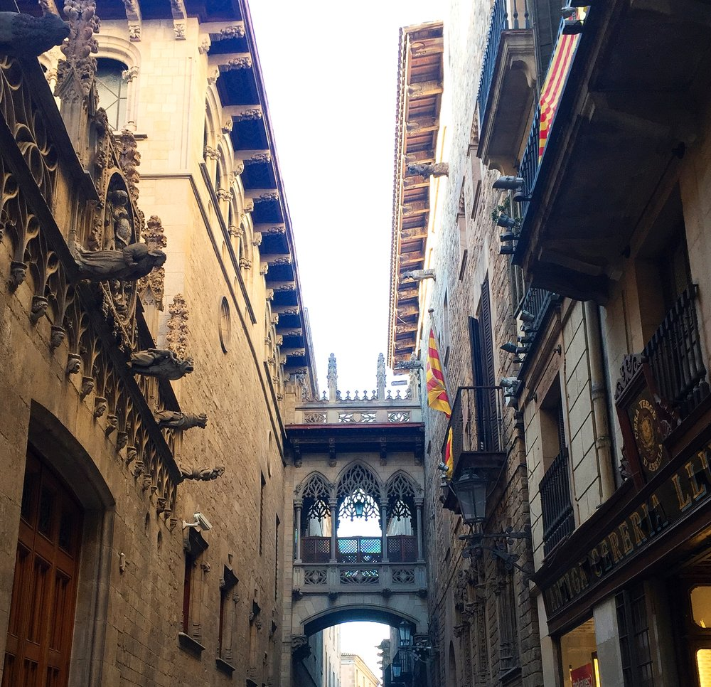 Barrio Gothic Barcelona city travel guide