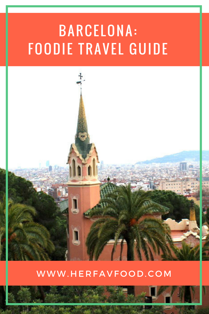 Barcelona Travel guide for foodies