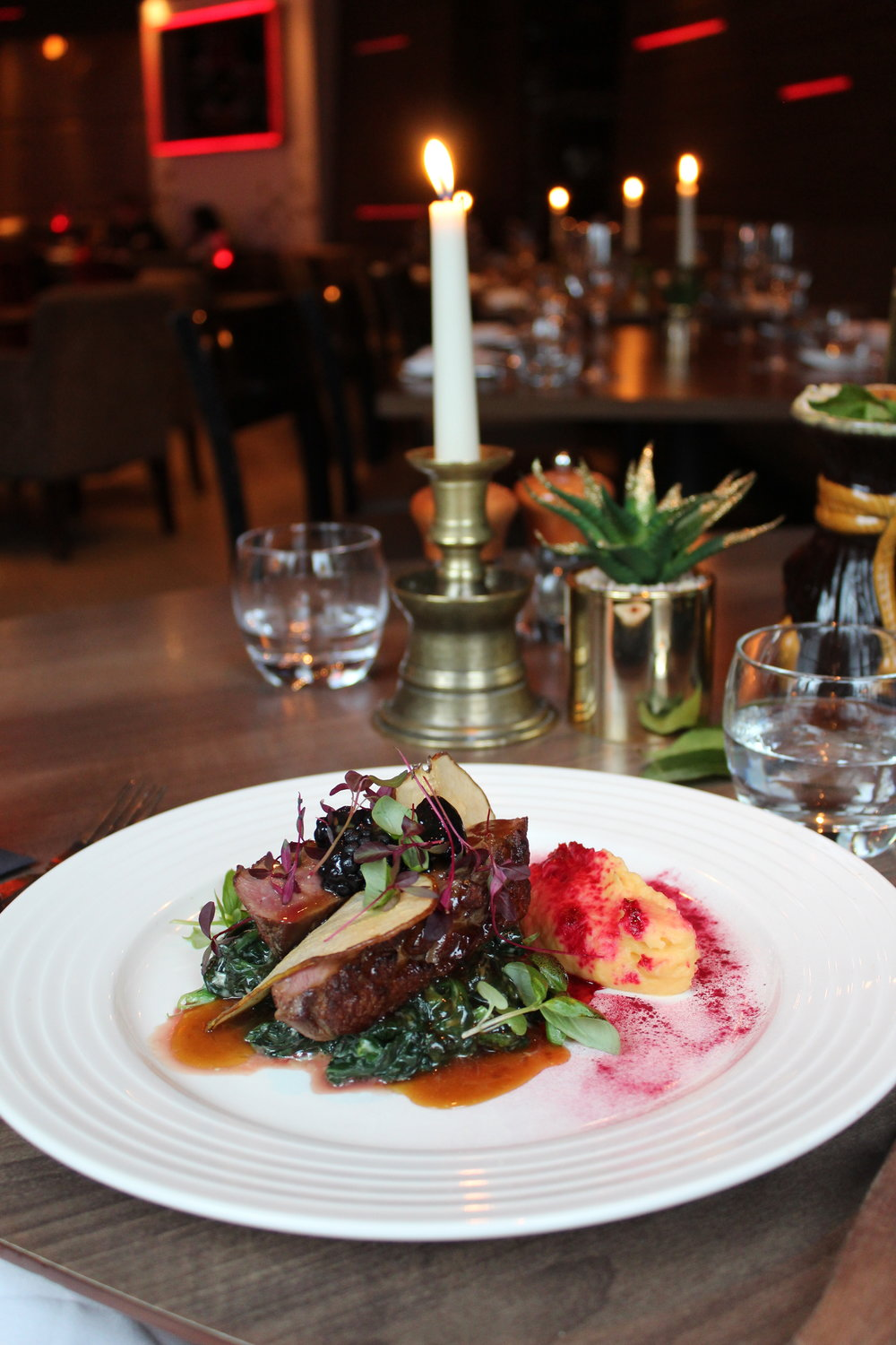 gluten-free dinner at Eaton Square restaurant and bar review