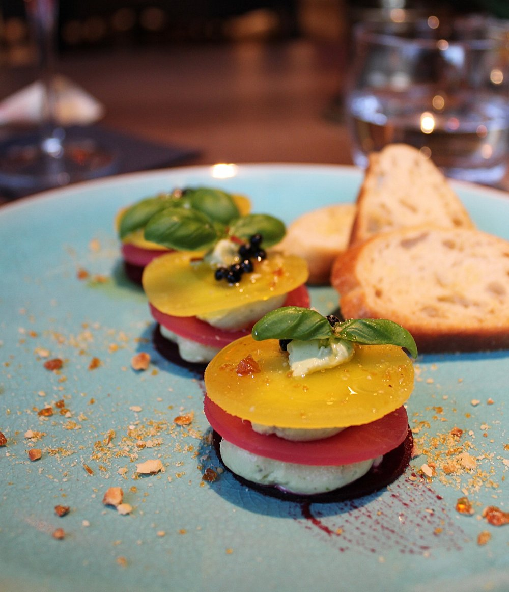 Starters at Eaton Square restaurant and bar review