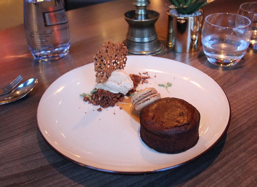 Dessert at Eaton Square restaurant and bar