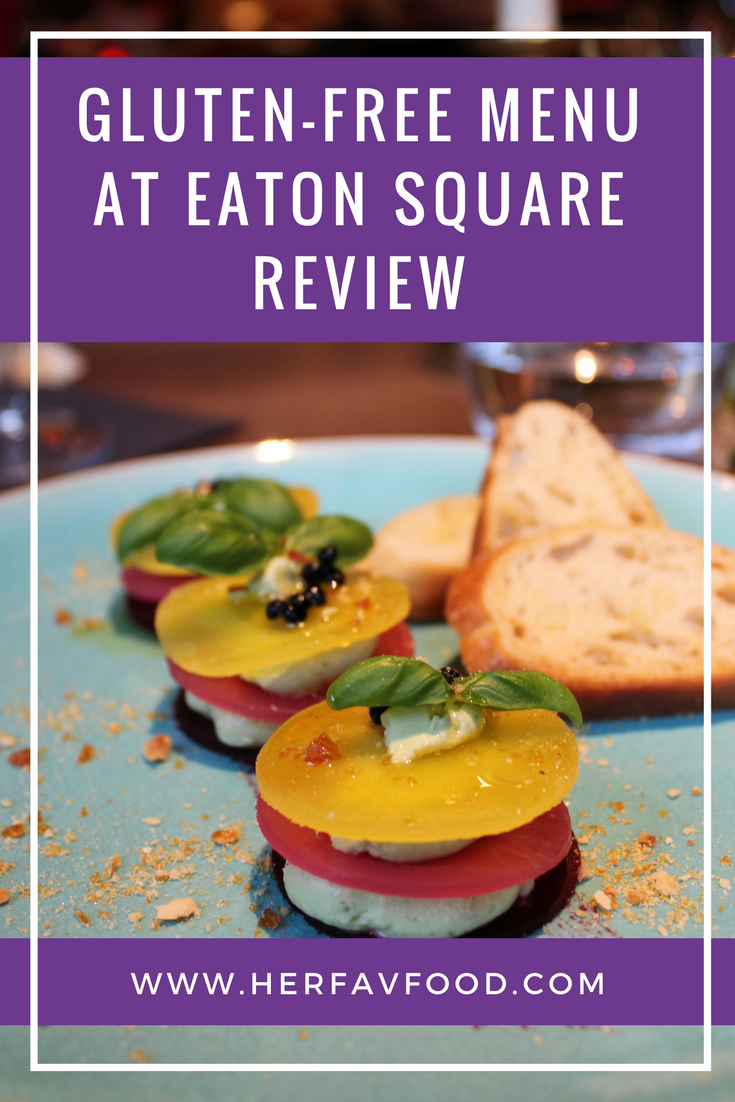 Eaton Square restaurant review on Her Favourite Food