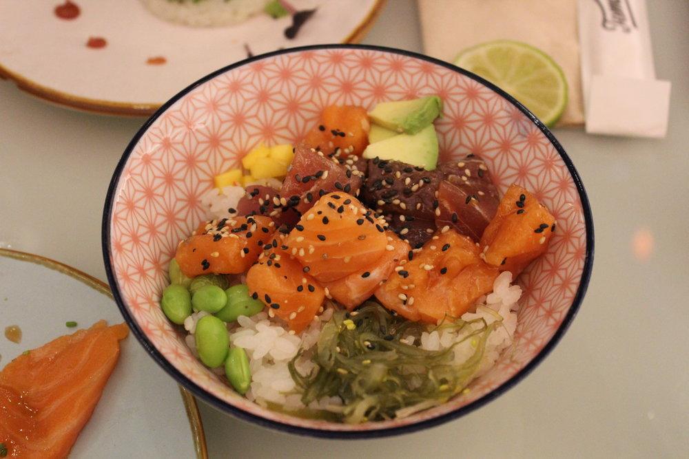 Poke at Temakinho Soho restaurant review