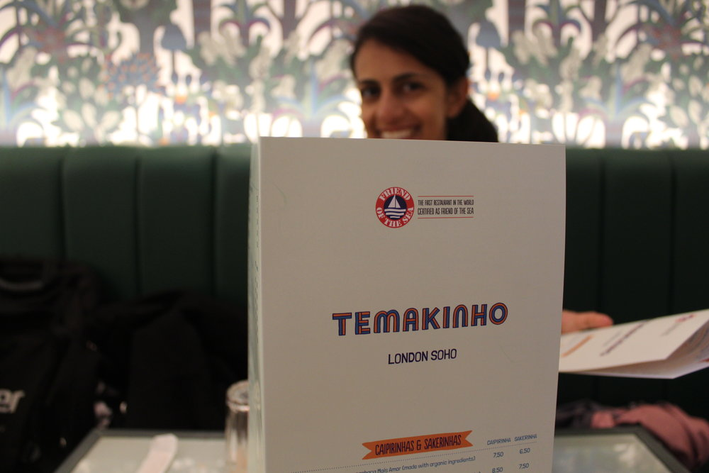 Temikinho Soho restaurant review on Her Favourite Food