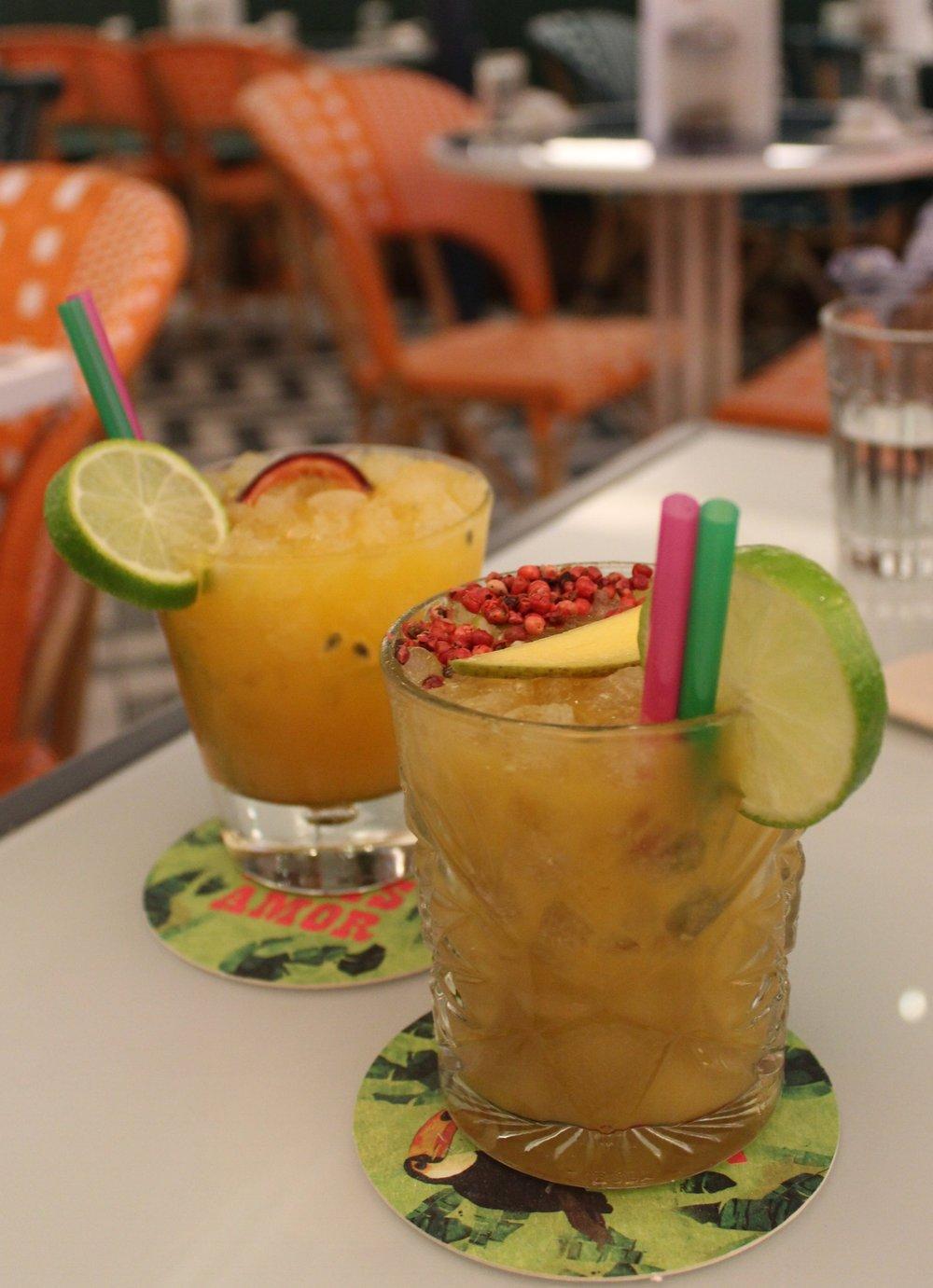Cocktails at Temakinho Soho restaurant review