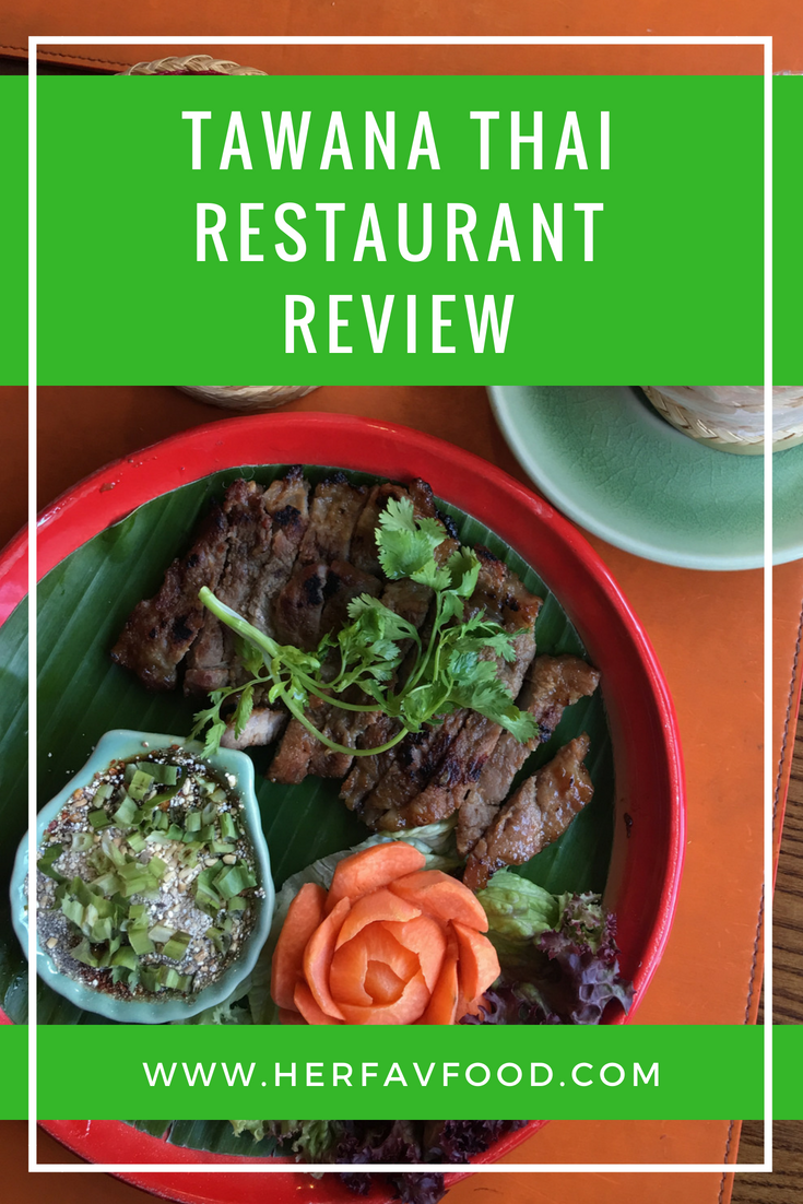 Tawana Thai restaurant in London review