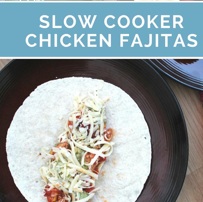 Recipe - Slow cooker chicken fajitas