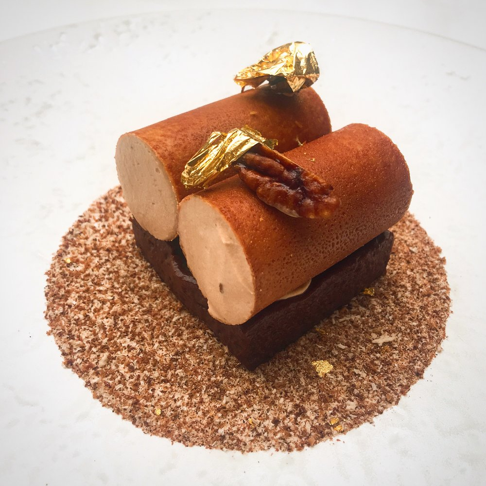 Coffee dessert Celeste at the lanesborough hotel london