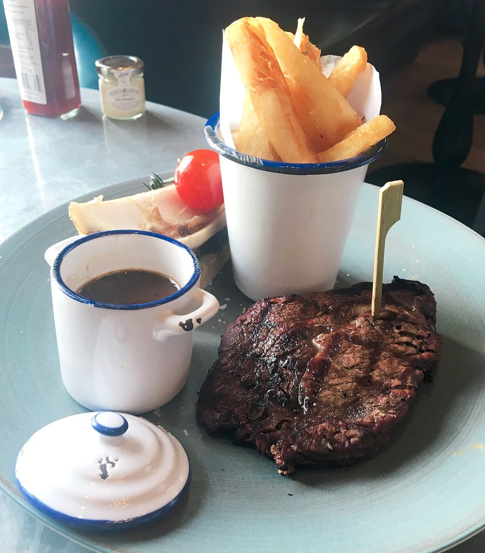Steak at Gillray's restaurant review London Southbank
