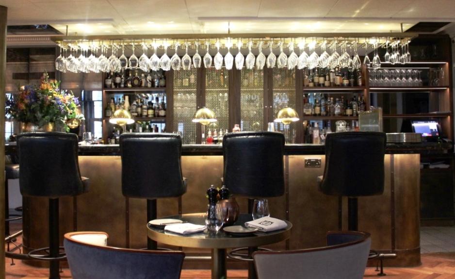 Dinner at GBR at Dukes Hotel, Mayfair, London