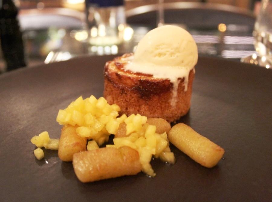 Dessert at GBR at Dukes Hotel London