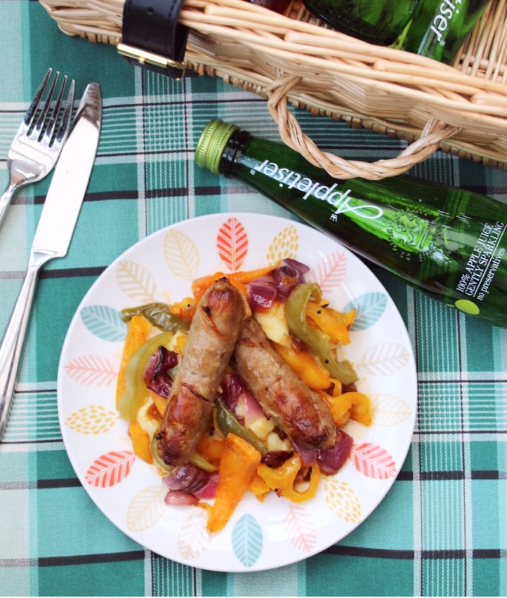 Caribbean spicy sausage recipe