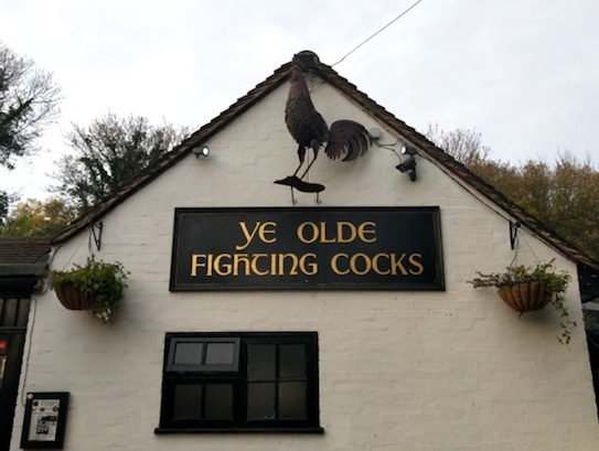 Ye Olde Fighting Cocks St Albans