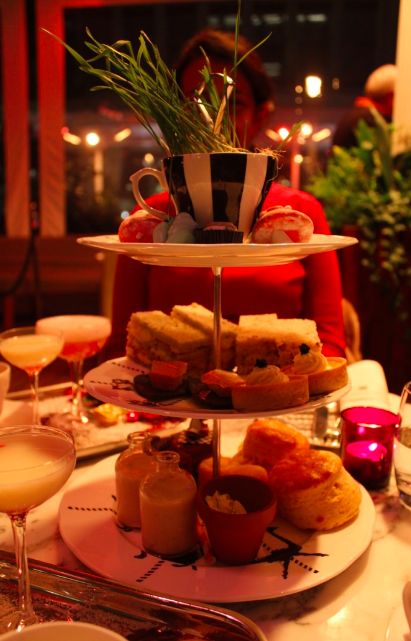 sanderson hotel tipsy evening tea