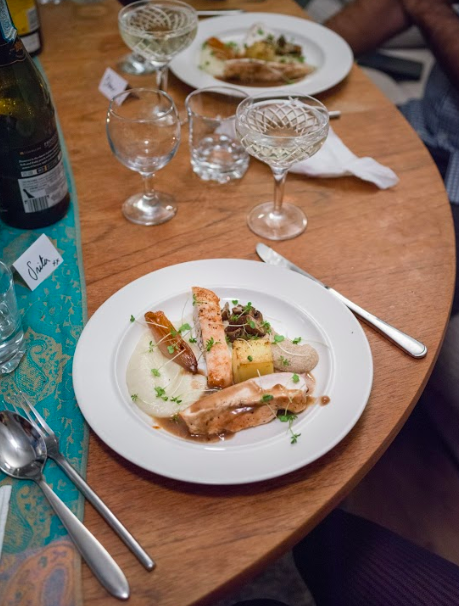 Private Chef Dinner Party La Belle Assiette