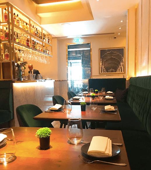 Indian Accent London Mayfair Restaurant