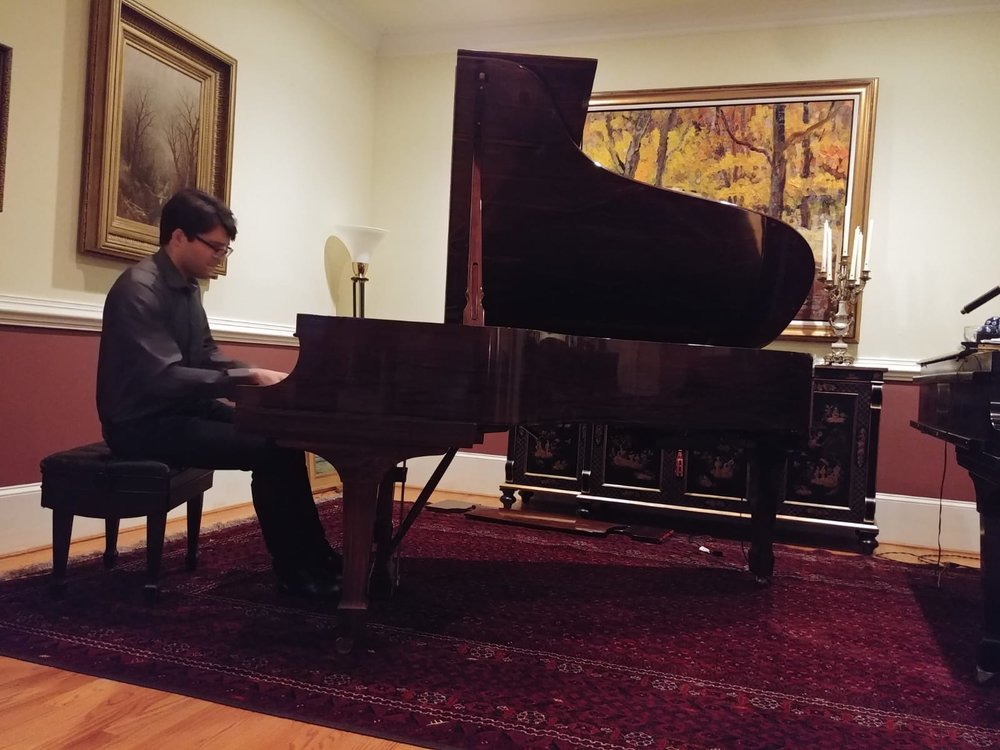 Piano Recital Georgetown Washington DC