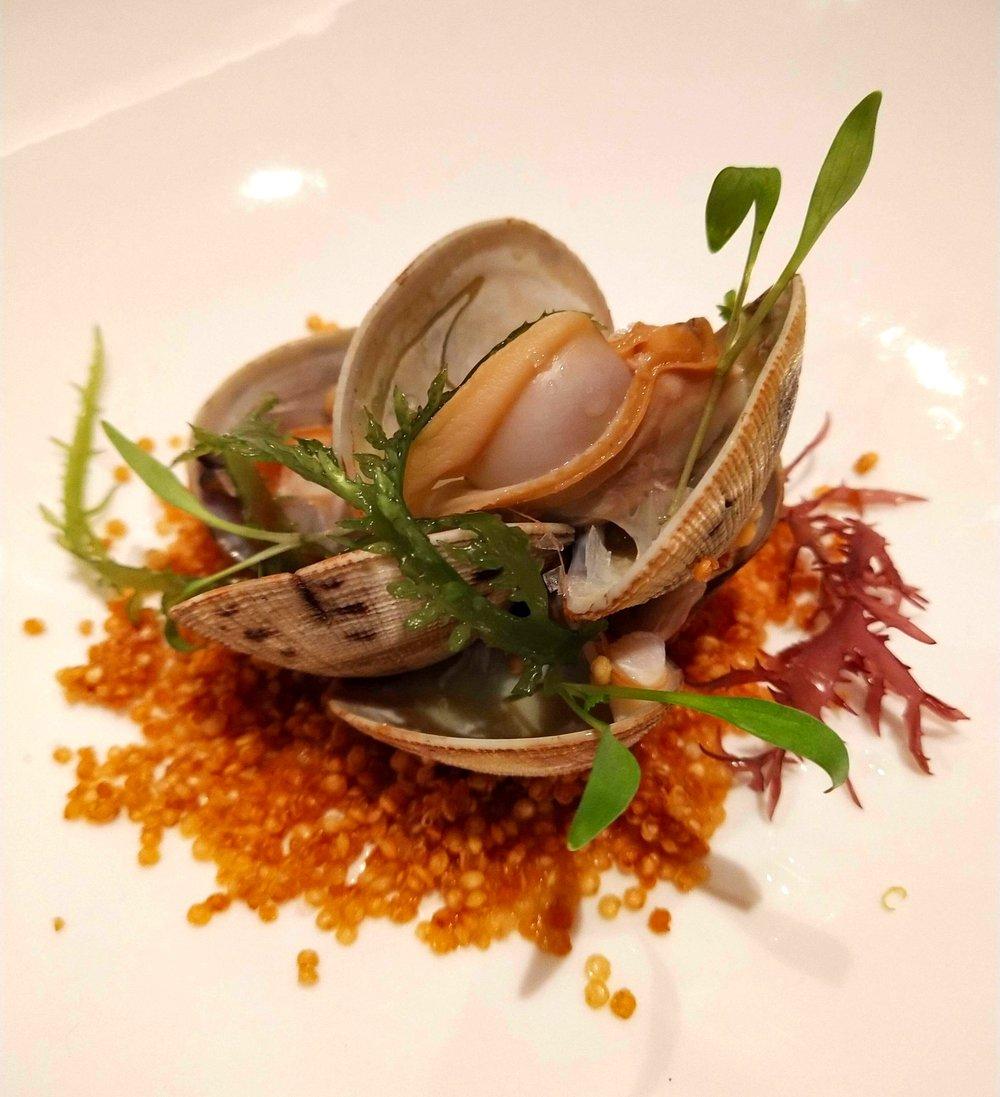 New England clam chowder POTUS Restaurant Vauxhall London