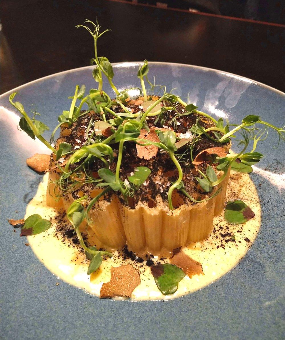 truffle mac and cheese POTUS restaurant Vauxhall London