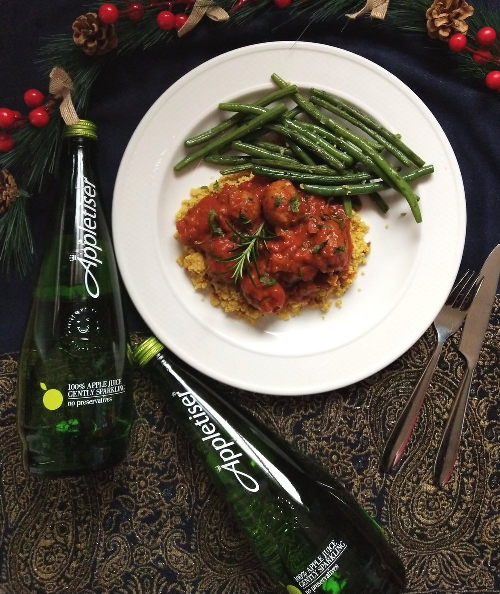 Lamb meatballs with couscous recipe