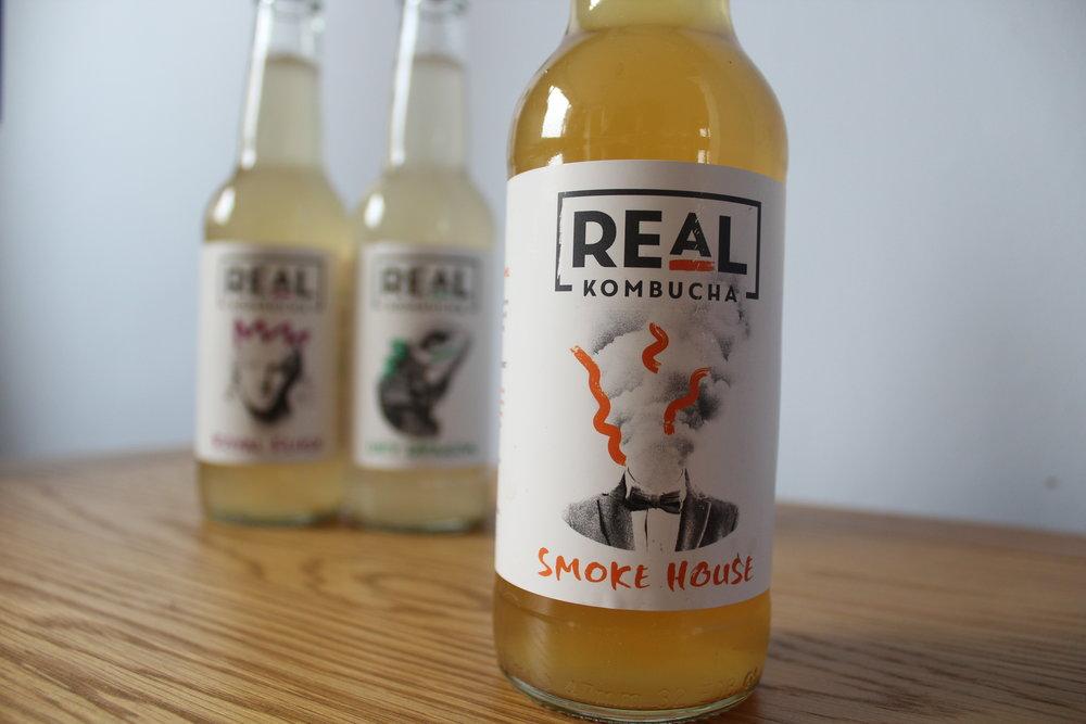 Real Kombucha fermented drinks