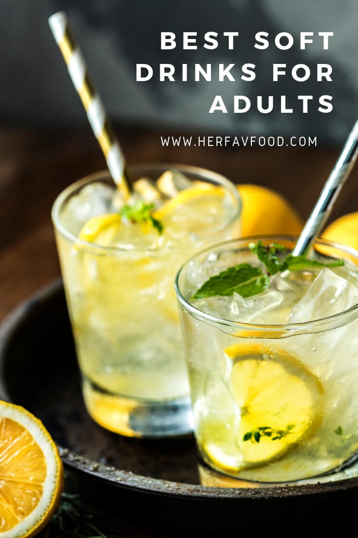 Best soft drinks for adults