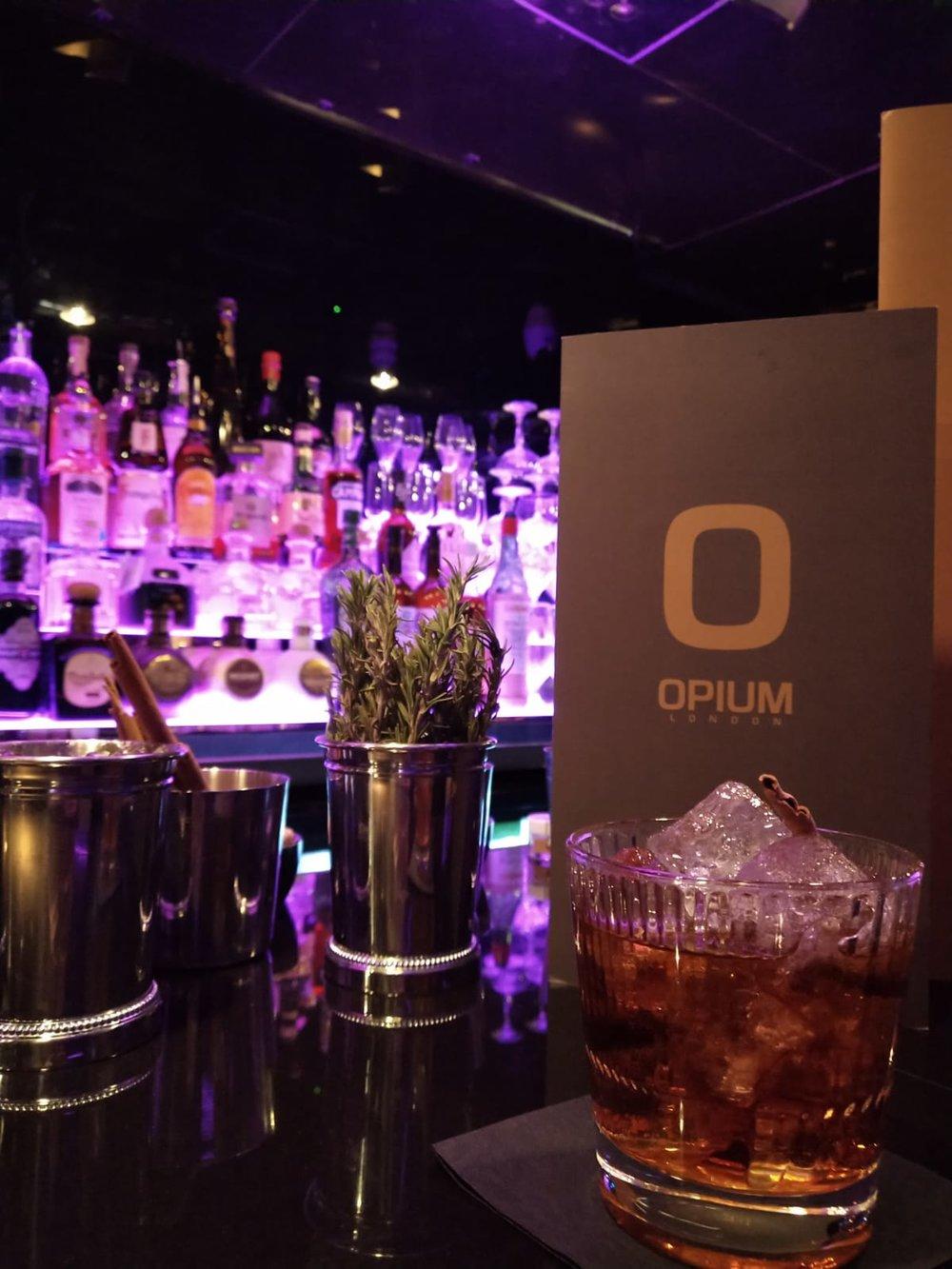 Cocktail Opium London Nightclub
