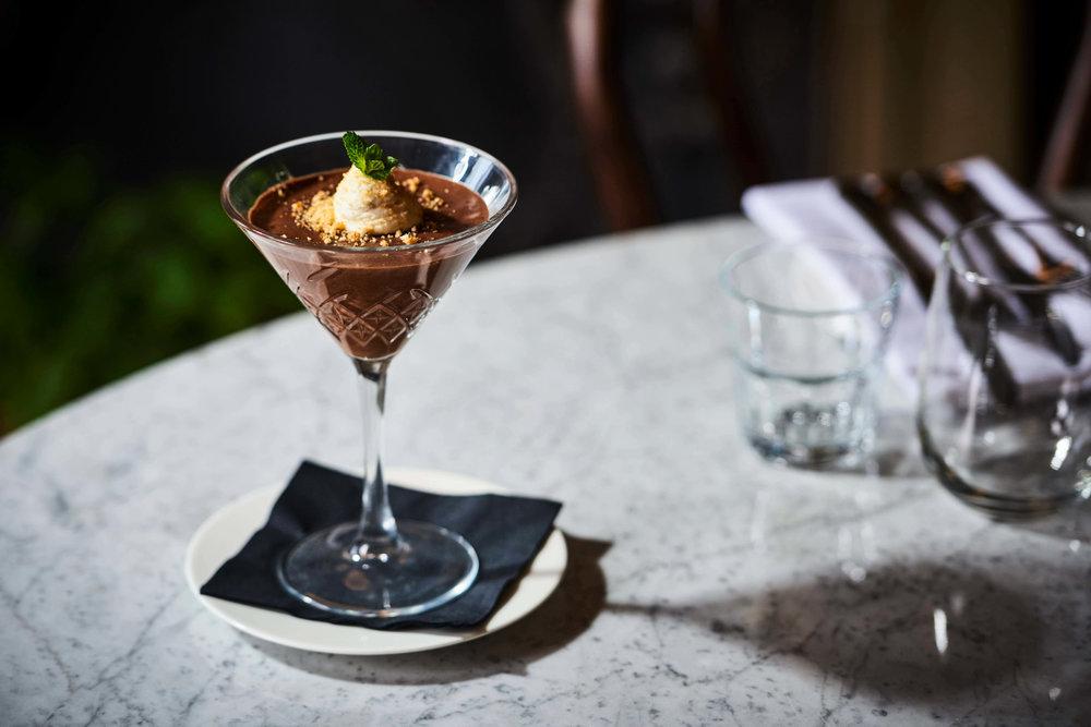 Chocolate Dessert in Bath