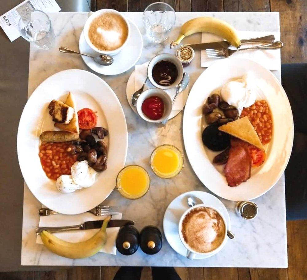 Breakfast at Abbey Hotel