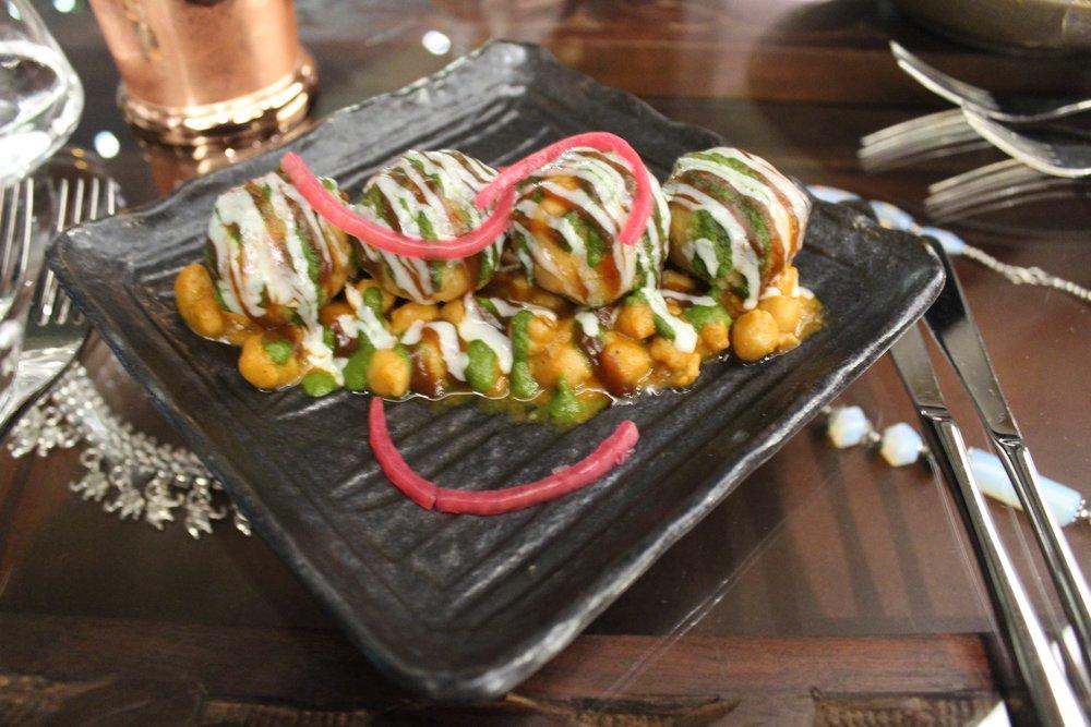 Chokhi Dhana London menu starter