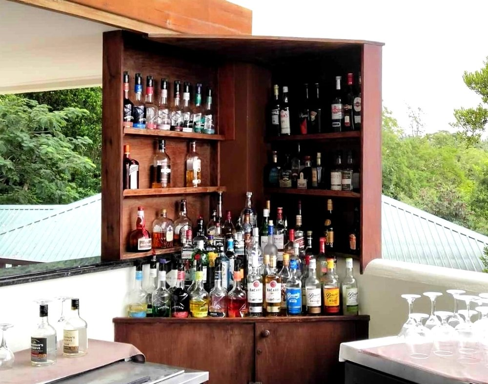 Calabash Cove St Lucia bar