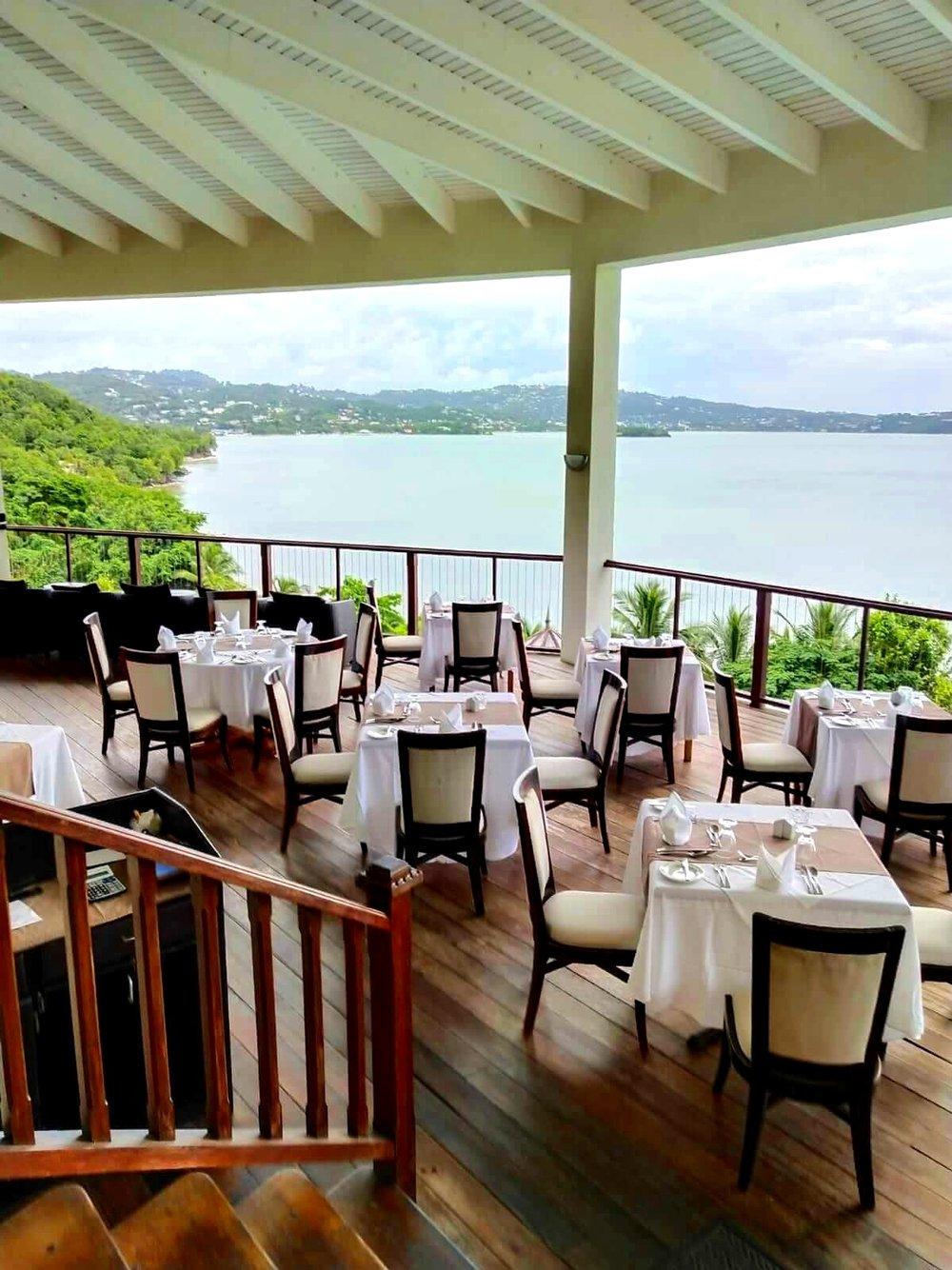 Calabash Cove St Lucia windsong restaurant