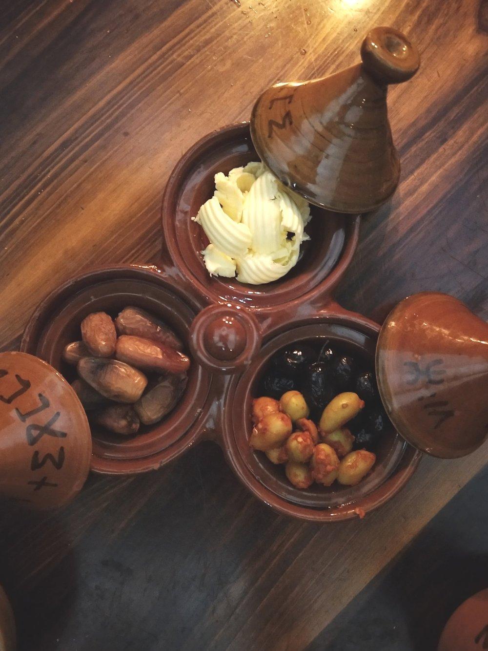 Breakfast at Kasbah du toubkal
