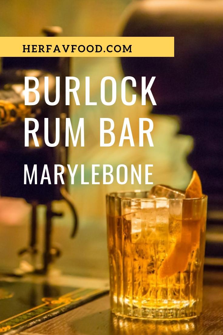 burlock rum bar review