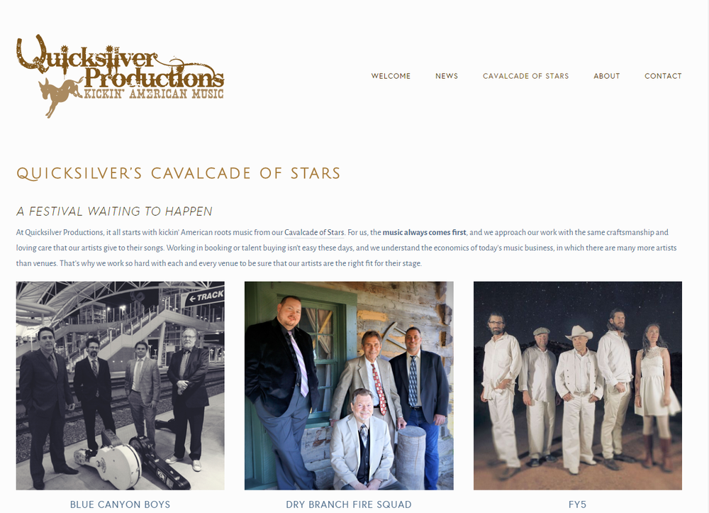 quicksilver productions website