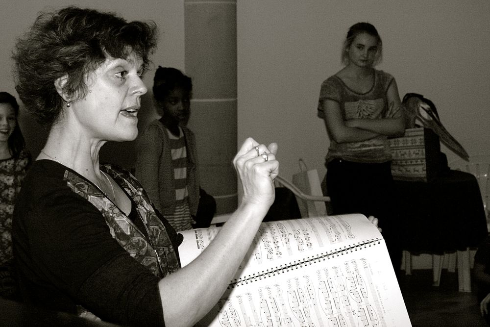 CHOIR DIRECTOR MARY PHILlIPS