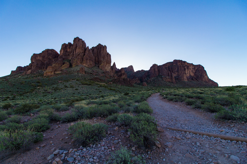 Flat Iron / Siphon Draw Trail, Superstition Mountains, AZ