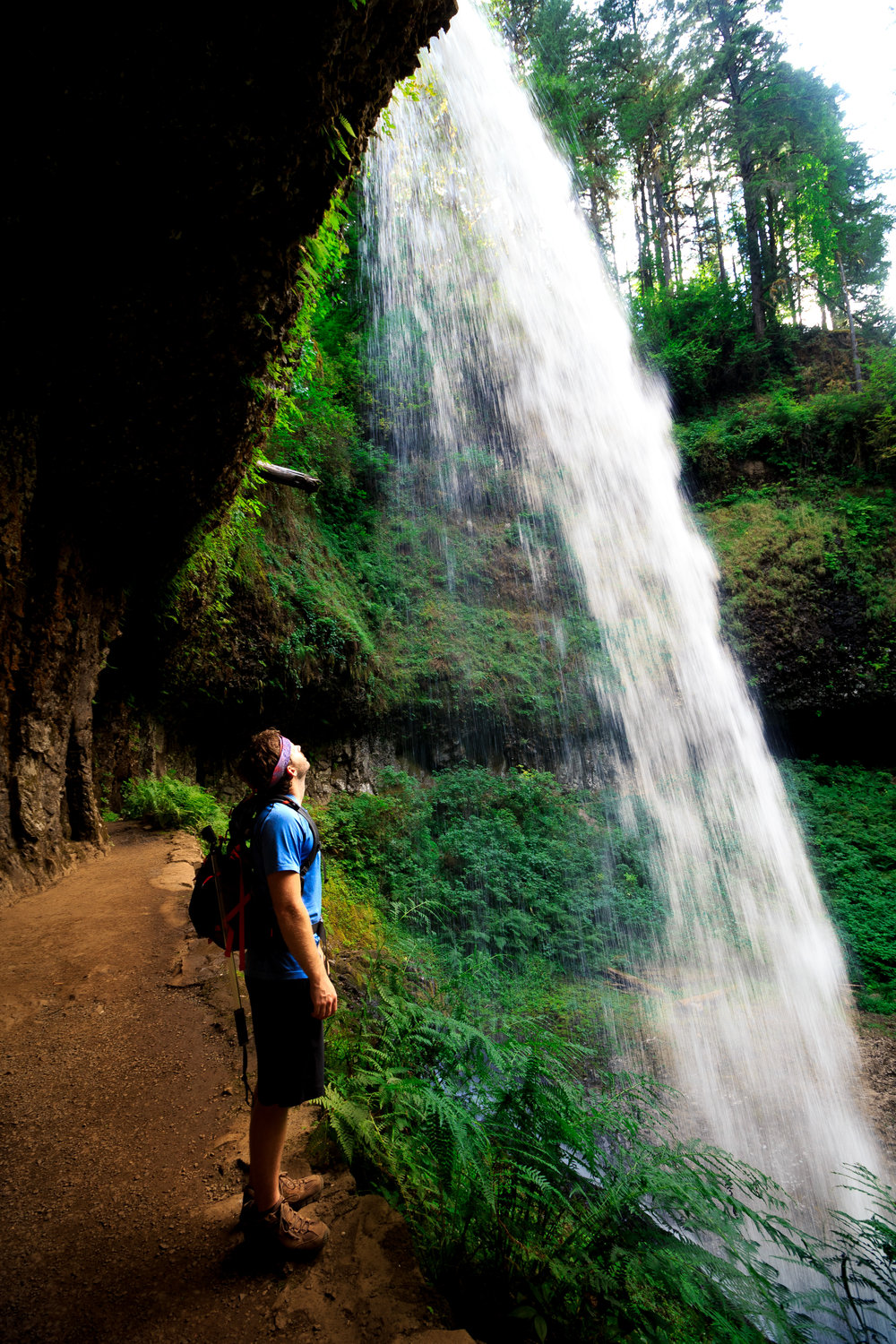 Trail of Ten Falls, Silver Falls State Park, Oregon