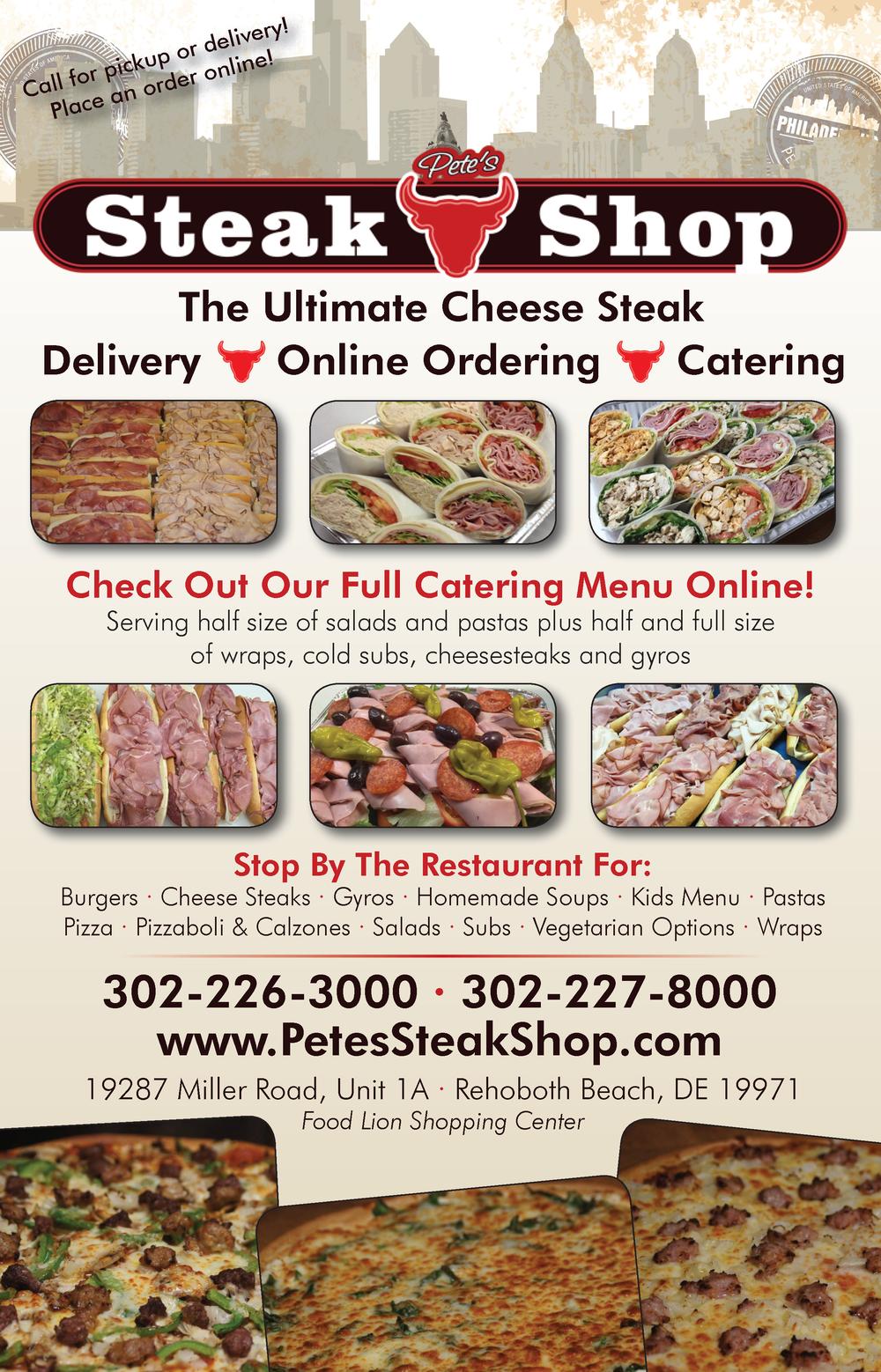 Pete's Steak Shop