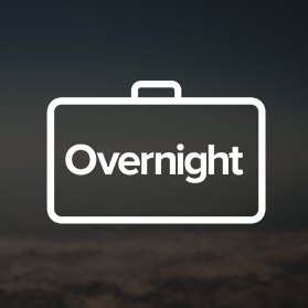 <h4>Overnight</h4><h5>Last minute travel booking app<br>for same-day stays.</h5>