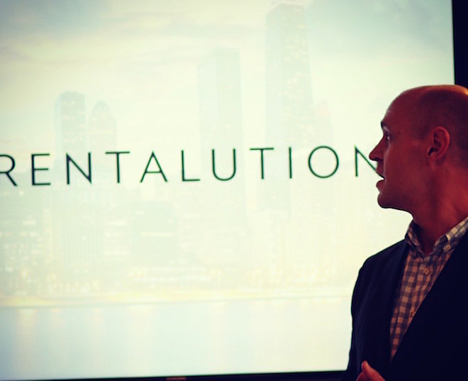 Ryan Coon of Rentalutions, the first company to sign up for the MetaProp NYC program.