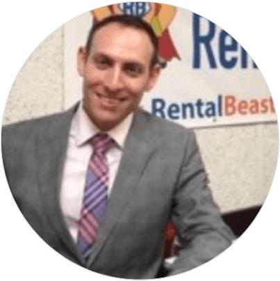 <b>Ishay Grinberg</b> <br> <em>President</em> <br>Rental Beast