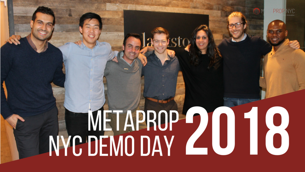 2018 MetaProp Demo Day
